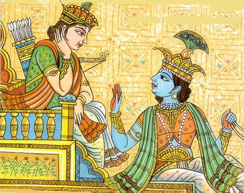 an analysis of the free choice for arjuna in the hindu bhagavadgita religious text The bhagavad gita is arguably the most revered text in the hindu religious tradition  bhagavad gita on caste – an analysis   the agent who is free of .